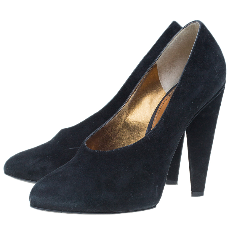 Dolce and Gabbana Suede Pumps Size 38