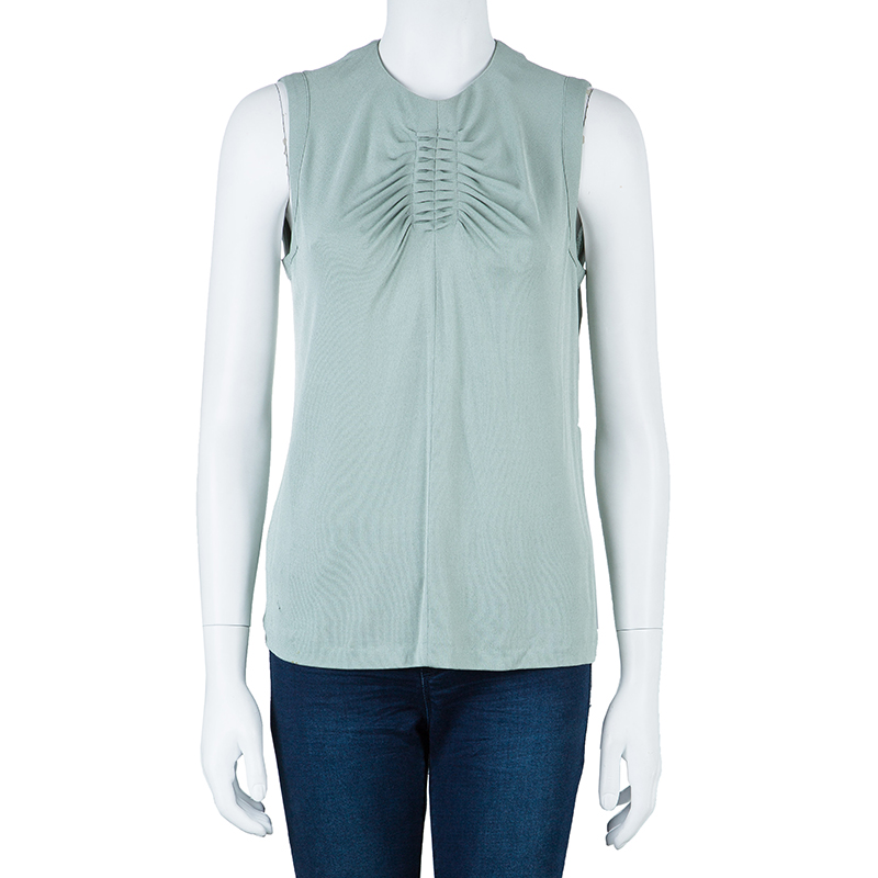 Kenzo Ash Grey Sleeveless Top M