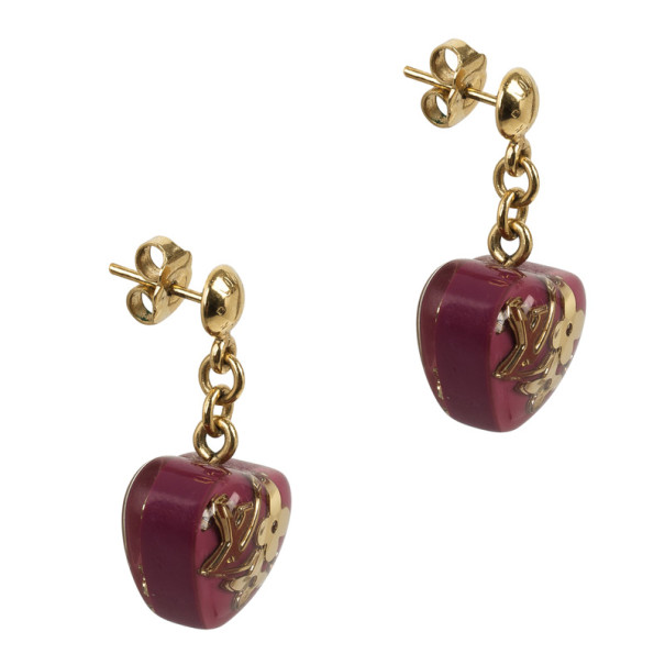 Louis Vuitton Inclusion Heart Earrings