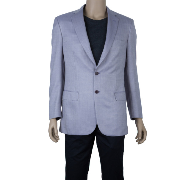 Brioni Ash Brown Colosseo Blazer Jacket EU48