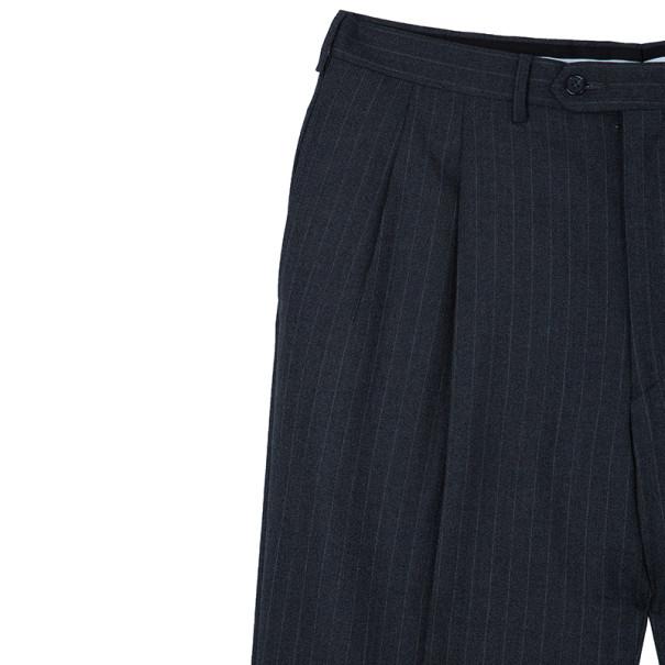 Fendi Uomo Pinstriped Grey Suit EU52