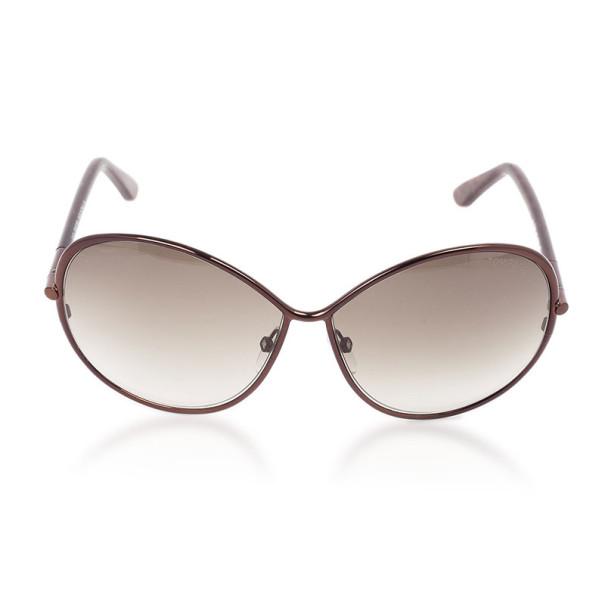 Tom Ford Brown Iris Woman Sunglasses