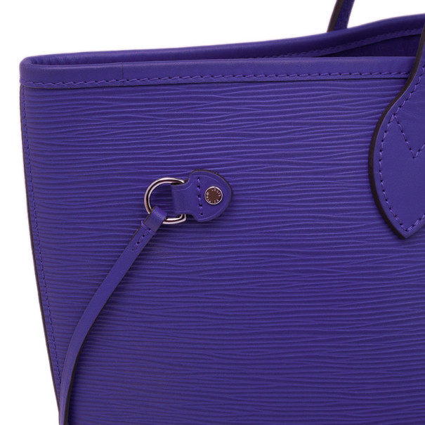 Louis Vuitton Figue Epi Leather Neverfull Tote MM