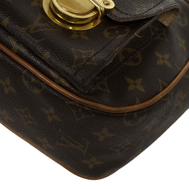 Louis Vuitton Monogram Canvas Hudson GM
