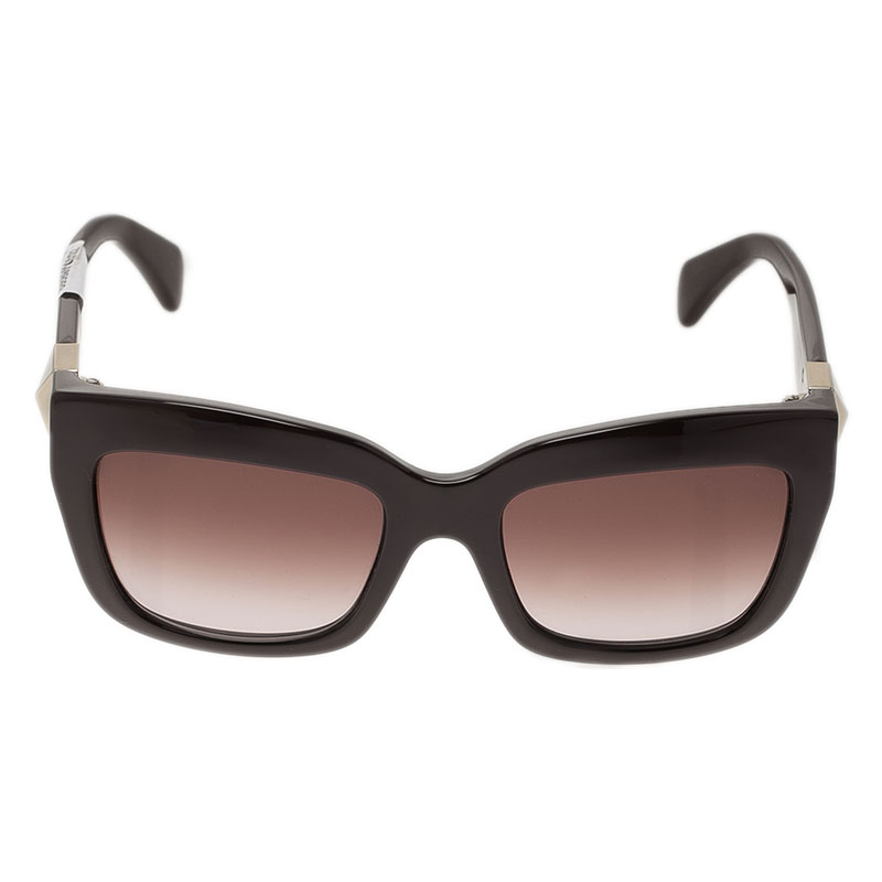 Valentino Brown V692S Superstud Cat Eye Sunglasses