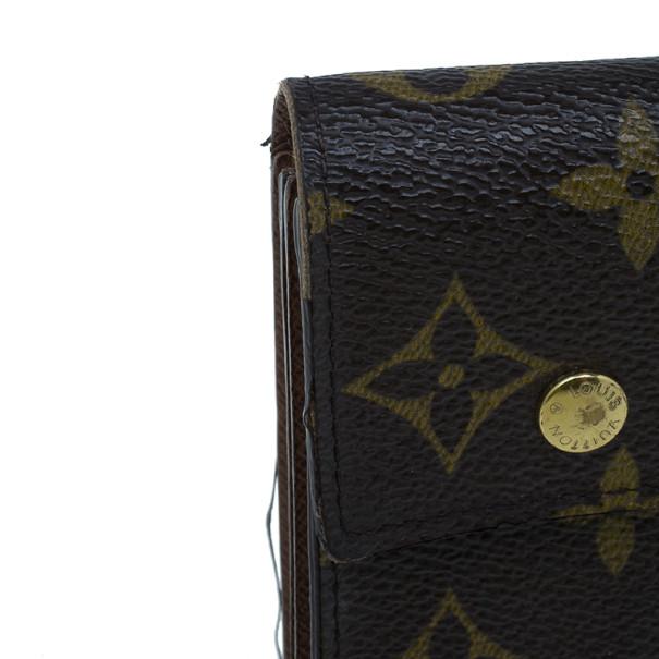 Louis Vuitton Monogram Canvas Macassar Continental Wallet