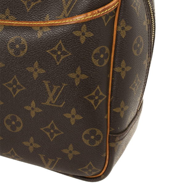 Louis Vuitton Monogram Deauville Boston Bag
