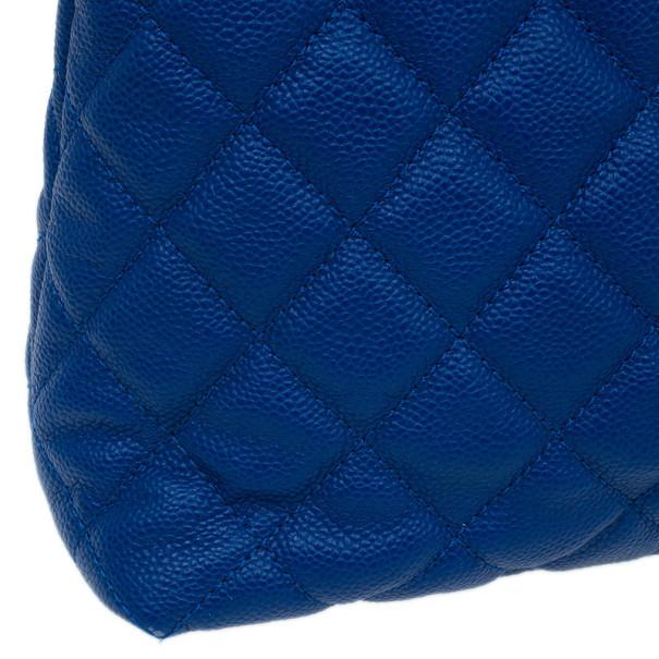 Chanel Blue Caviar Easy Tote