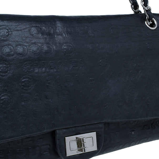 Chanel Black Lambskin 31 Rue Cambon Paris Reissue Flap Bag