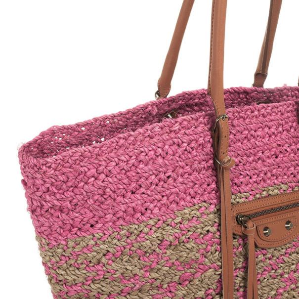 Balenciaga Panier Pink Basket