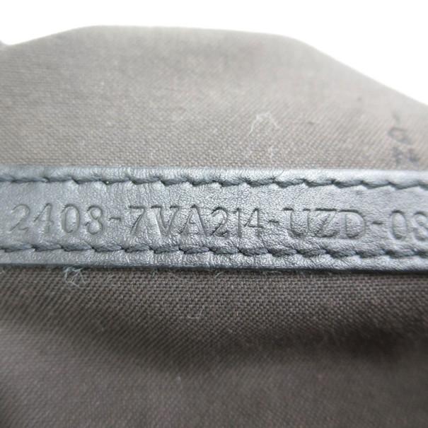 Fendi Black Zucca PVC Messanger Bag