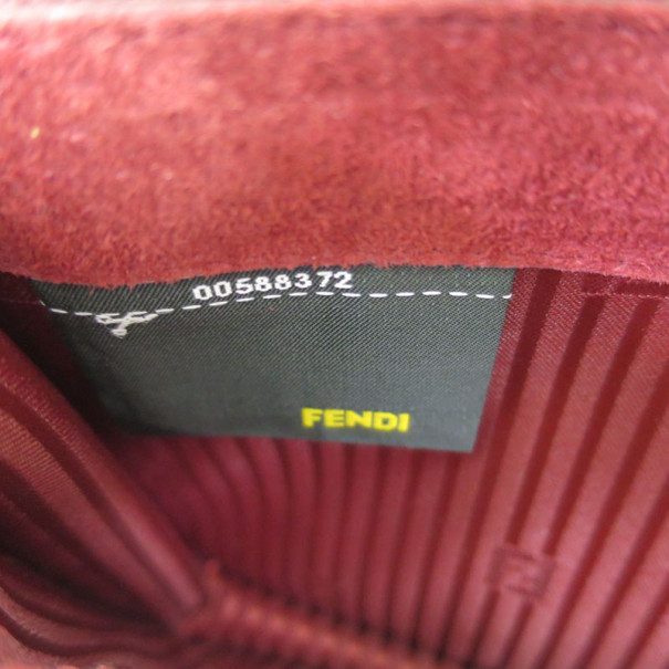 Fendi Multiclolor Envelope Clutch