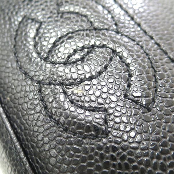 Chanel Black Caviar CC Shoulder Bag
