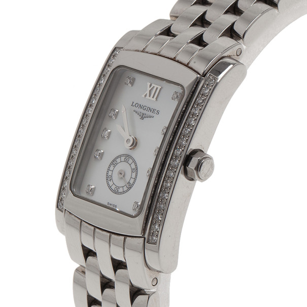 Longines Mother of Pearl Stainless Steel Dolce Vita Women's Wristwatch 20MM
