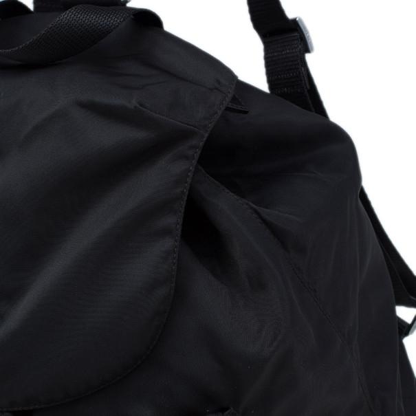 Prada Brown Tessuto Nylon Backpack
