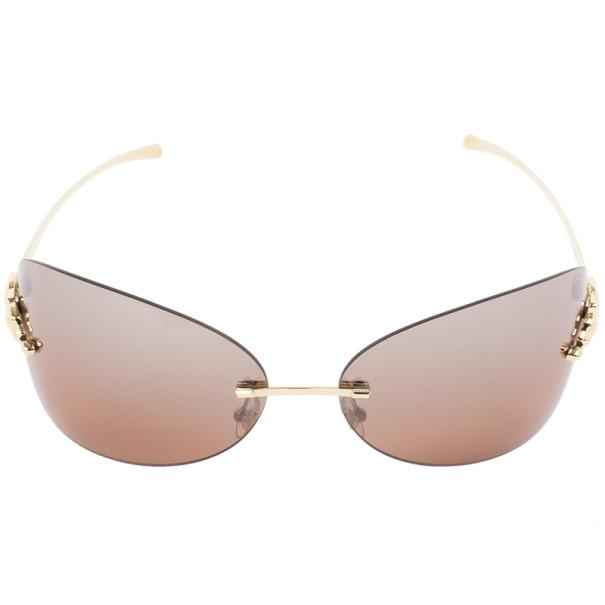 Cartier Panthere de Cartier Rimless Womens Sunglasses