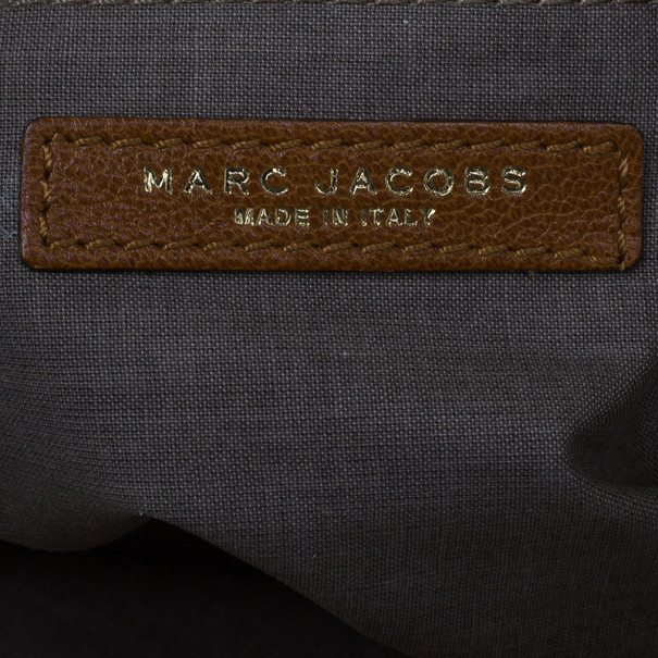 Marc Jacobs Brown Leather Shoulder Bag