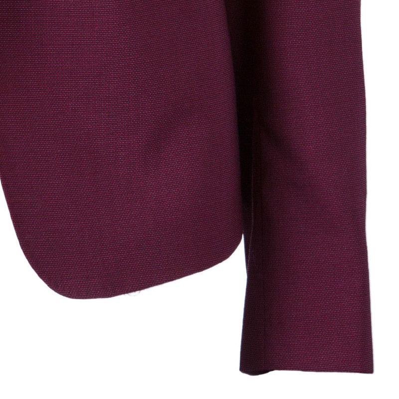 Max Mara Maroon Tailored Blazer L