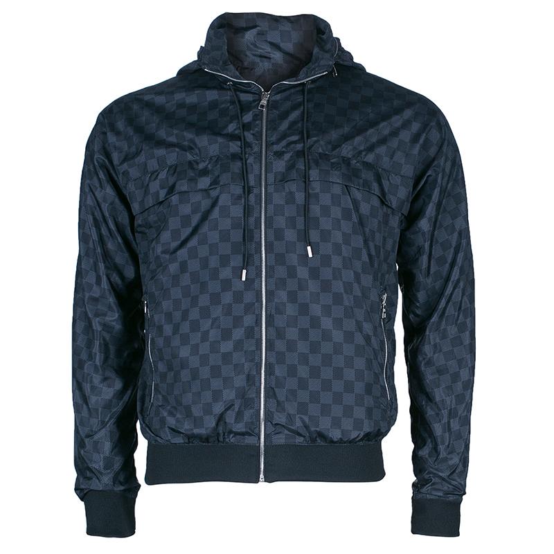 louis vuitton men 39 s damier graphite nylon jacket m buy. Black Bedroom Furniture Sets. Home Design Ideas