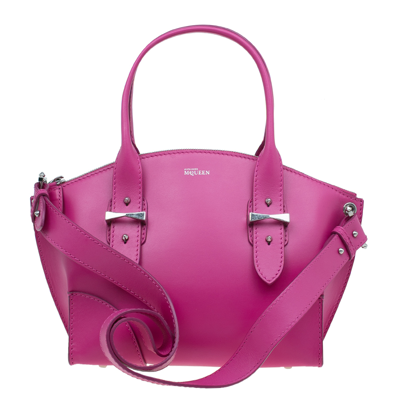 Alexander McQueen Pink Leather Small Legend Tote bag