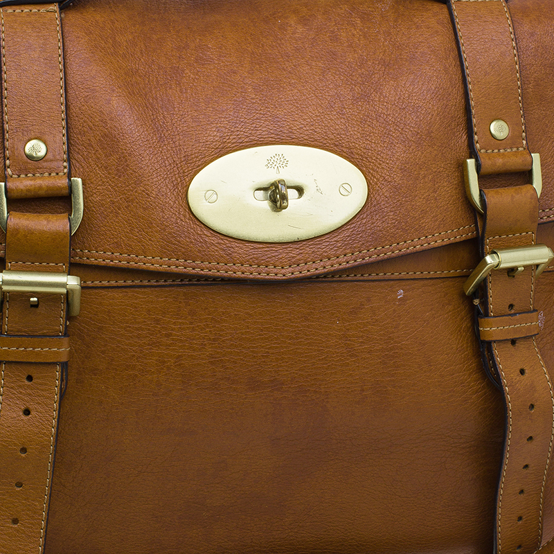 Mulberry Brown Leather Limited Edition 1 of 12 Alexa Cross Body Bag