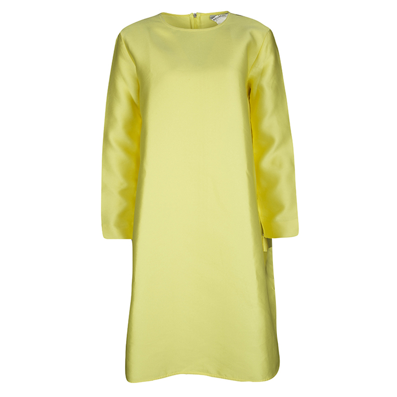 Max Mara Yellow Long Sleeve Dress M Nextprev Prevnext