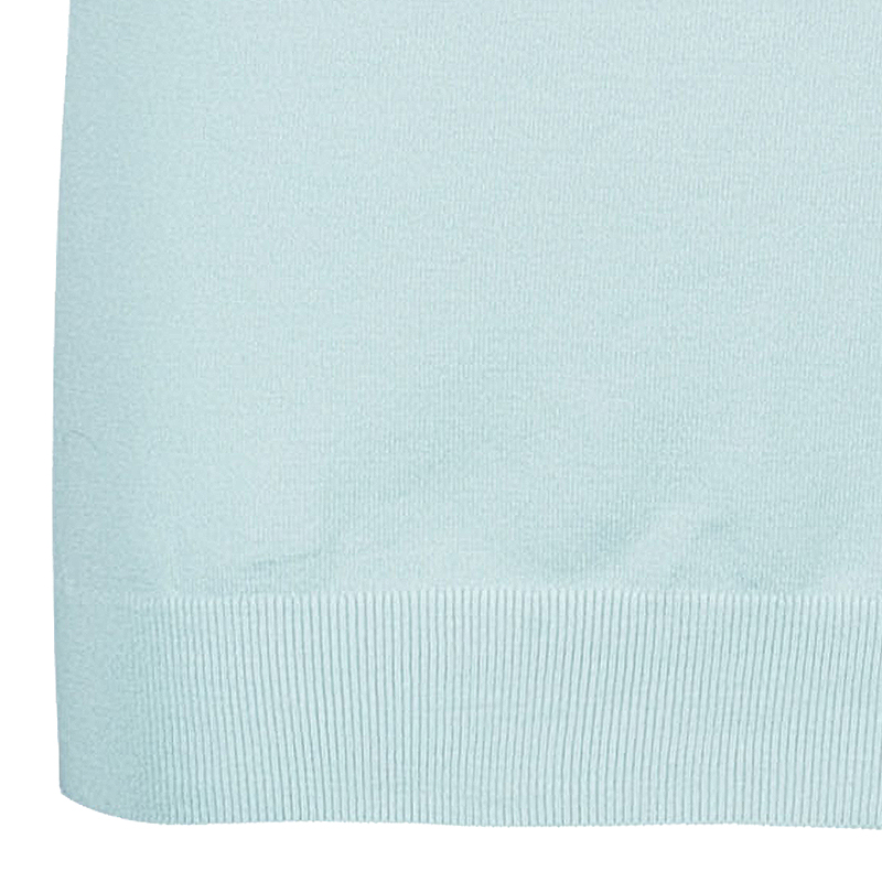 Louis Vuitton Turquoise Short Sleeve Sweater  M