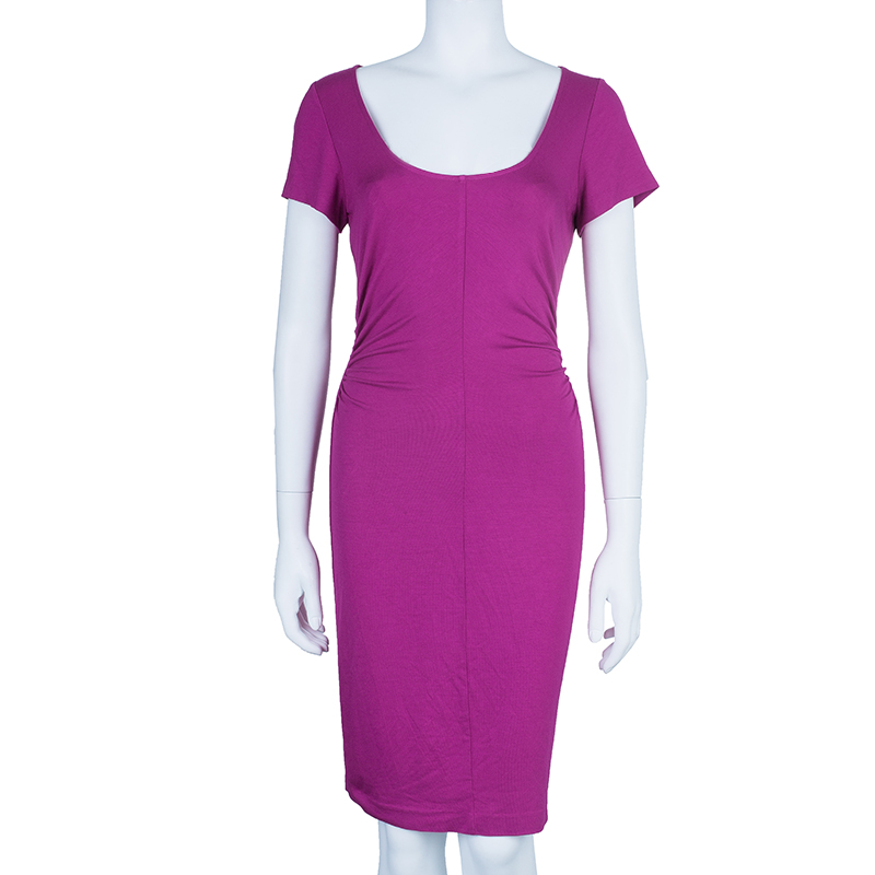 Diane Von Furstenberg Orchid Bloom Bally Dress M