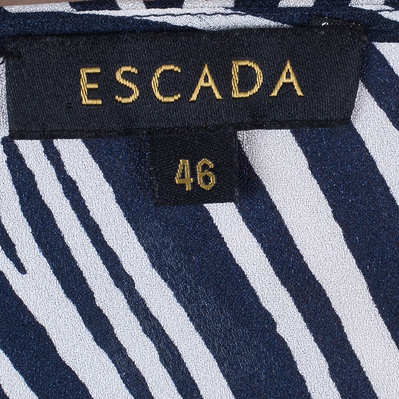 Escada Navy Nebahat Top L