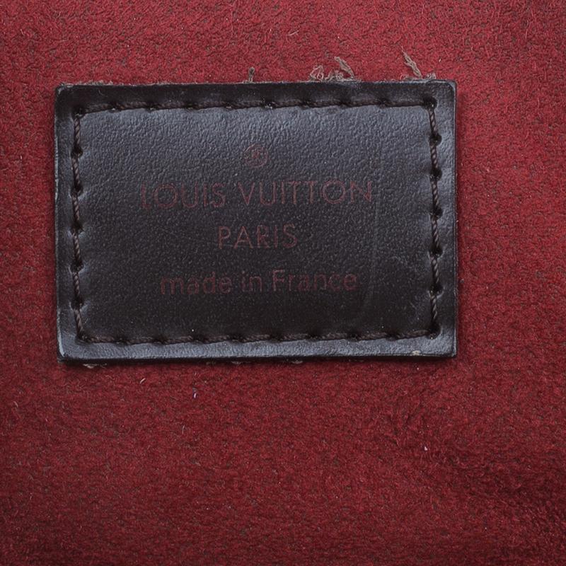 Louis Vuitton Damier Ebene Canvas Trevi Satchel PM