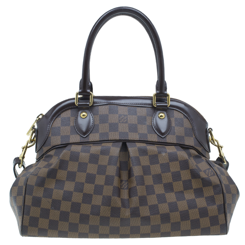 Louis Vuitton Damier Ebene Canvas Trevi Satchel PM