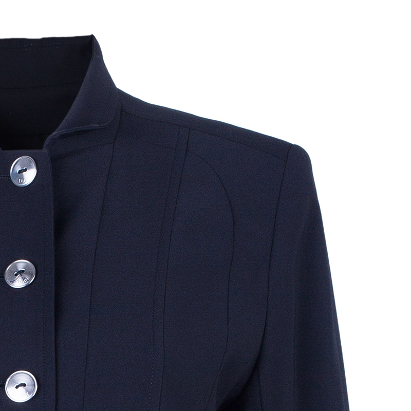Dior Black Single Breasted Button Up Blazer Jacket M