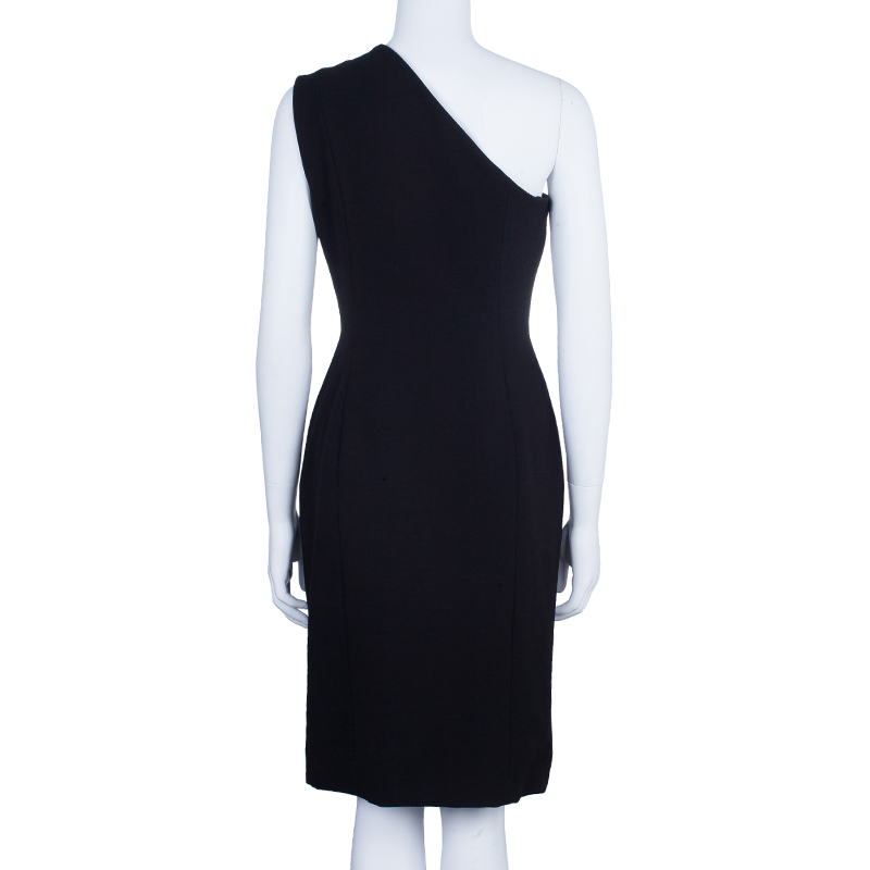 Philosophy Di Alberta Ferretti One Shoulder Embellished Dress M