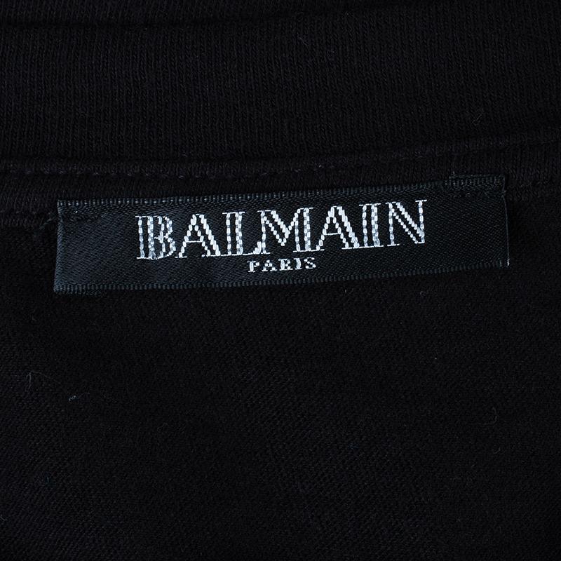 Balmain Do you Speak Balmain Muscle Tee M