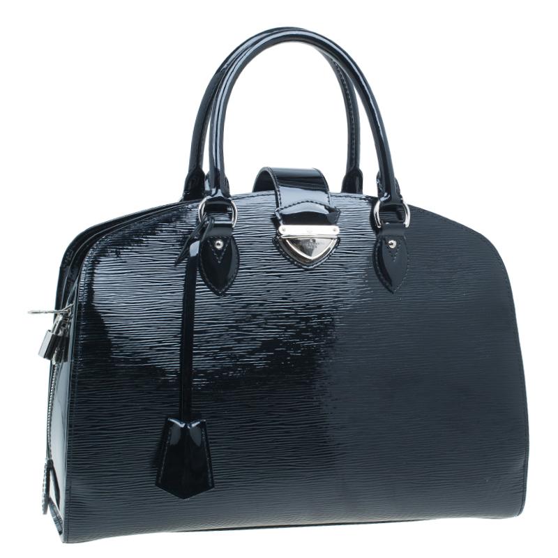 Louis Vuitton Black Epi Leather Pont Neuf Tote GM