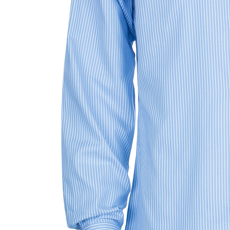 Ermenegildo Zegna Blue Striped Shirt L