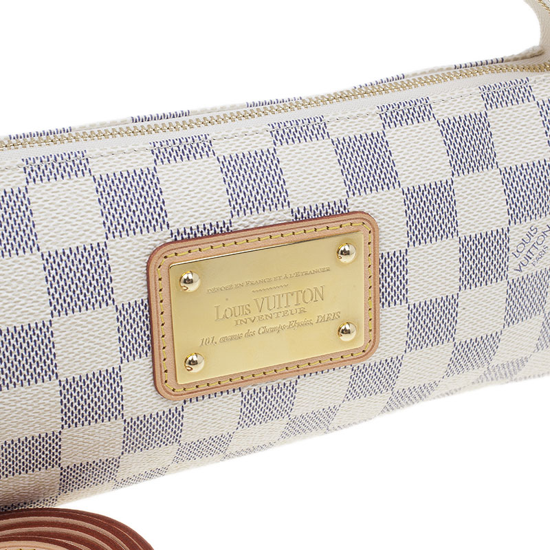 Louis Vuitton Damier Azur Canvas Eva Clutch