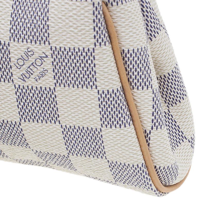 Louis Vuitton Damier Azur Canvas Eva Clutch