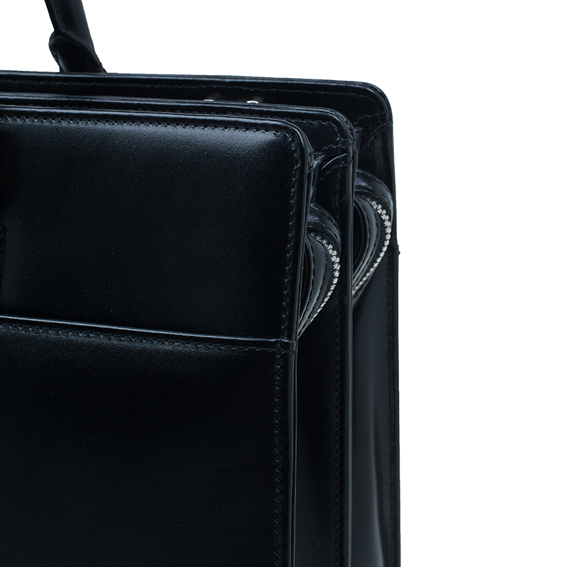 Montblanc Black Leather Meisterstuck Document Case