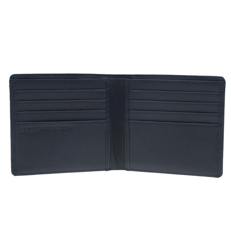 Porsche Design Black Classic Line Leather P2500 Bi Fold Wallet