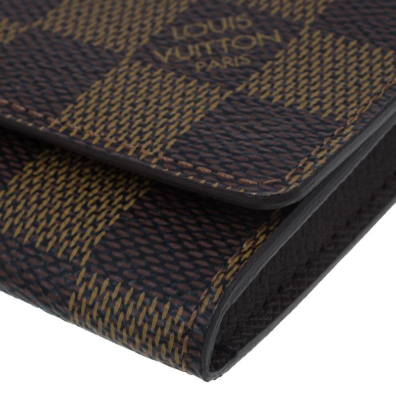 Louis Vuitton Damier Ebene Canvas Business Card Holder