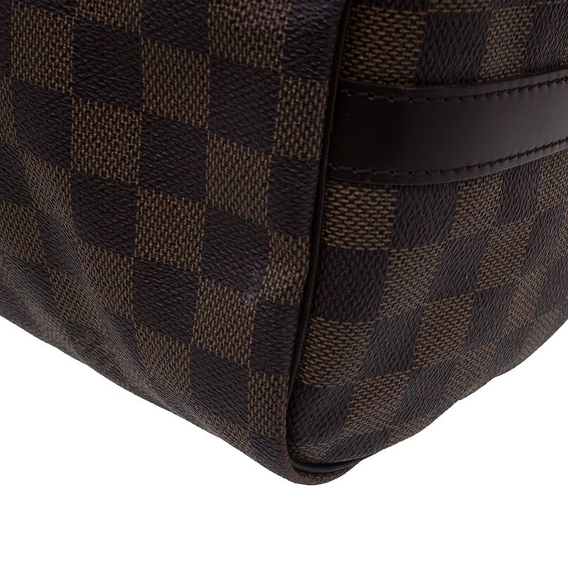 Louis Vuitton Damier Ebene Canvas Bandouliere Speedy  30