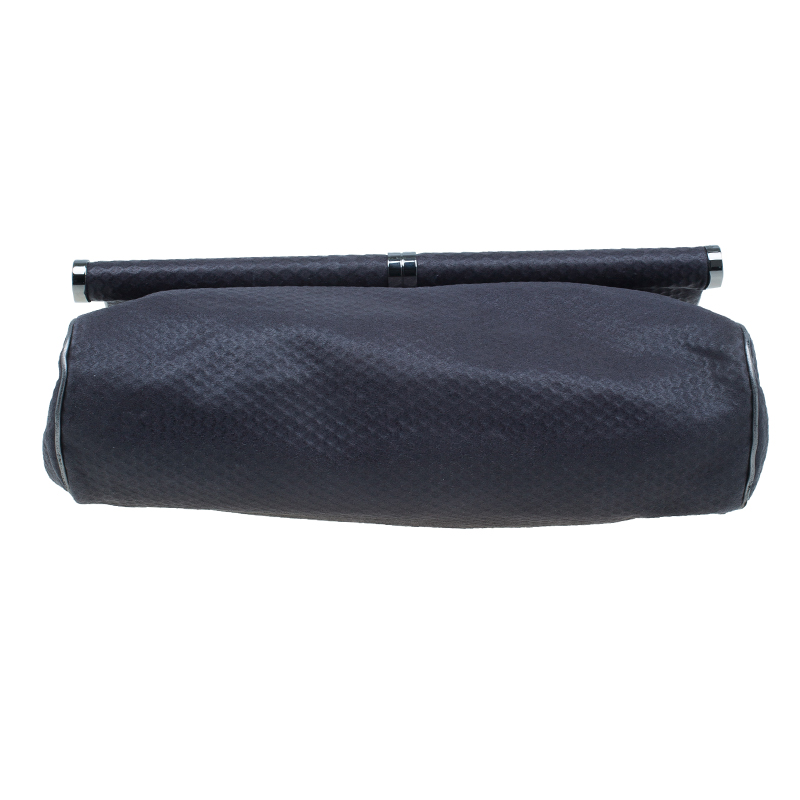 Stella McCartney Gray Leather Graphite Vegan Chain Shoulder Bag
