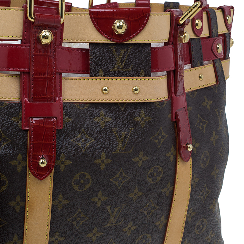 Louis Vuitton Monogram Canvas Limited Edition Rubis Salina Tote GM