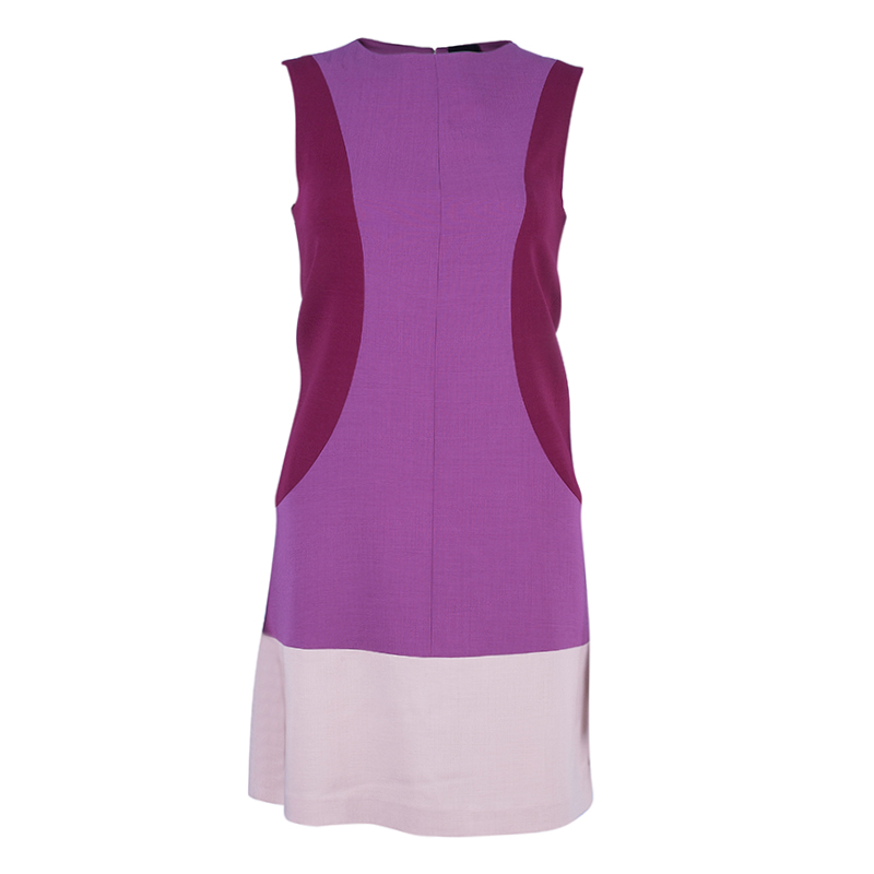 Fendi Colorblock Shift Dress S
