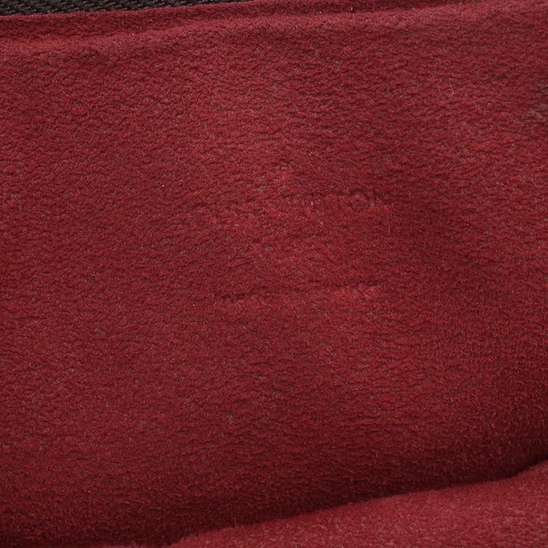 Louis Vuitton Damier Ebene Canvas Highbury Hobo