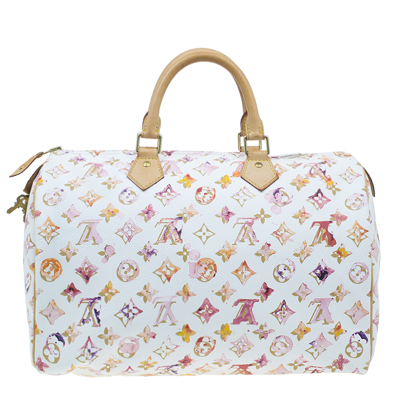 Louis Vuitton Watercolor Monogram Speedy 35