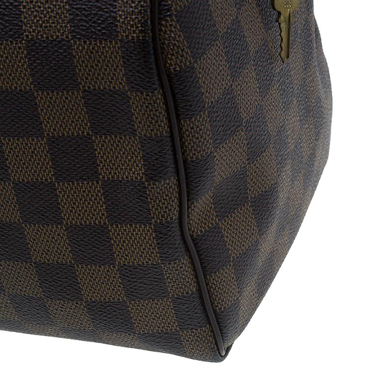 Louis Vuitton Damier Ebene Canvas Speedy 30