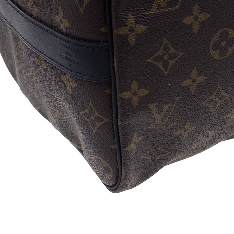 Louis Vuitton Monogram Macassar Canvas Keepall 45