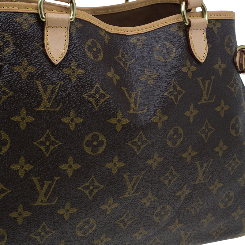 Louis Vuitton Monogram Canvas Batignolles Horizontal Tote